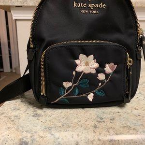 Kate Spade mini nylon backpack